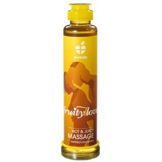 Masážní olej - FRUITY LOVE Vanilka-Skořice 200ml
