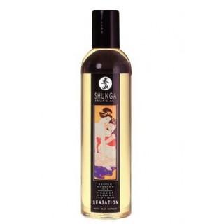 SHUNGA - vůně levandule - Erotický masážní olej