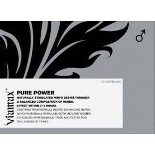 VIAMAX Pure POWER - podpora erekce 10tablet