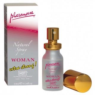 Hot Woman Natural Spray 10 ml Feromonový parfém pro ženy extrastrong