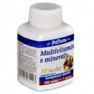 MedPharma Multivitamín s minerály 30 složek tbl.107