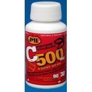 JML Vitamín C500mg s šíp.60+5tbl. (316)
