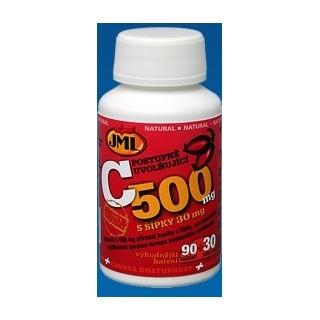 JML Vitamin C500mg s šíp.90+30tbl.