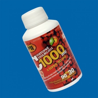 JML Vitamin C1000mg s šíp.90+30 tbl.