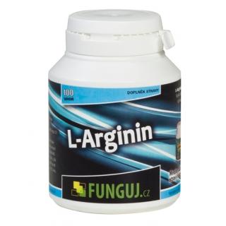 L-Arginin, 100 tobolek