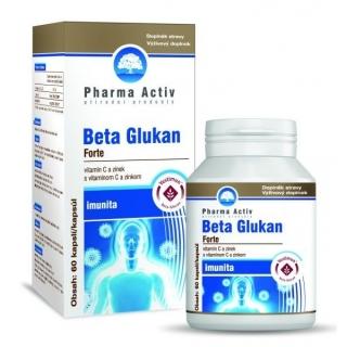 Beta Glukan Forte vitamin C a zinek cps.60