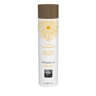 SHIATSU svůdný masážní olej - Ylang Ylang & pšeničný klíčkový olej 100 ml