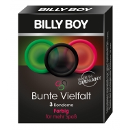 Kondomy - BILLY BOY barevné (3ks)