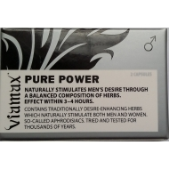 VIAMAX Pure POWER - podpora erekce 2tablety